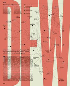 A literary map of David Foster Wallace