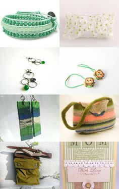 The Grass is Always Greener.... by Patricia and Rebecca on Etsy--Pinned with TreasuryPin.com