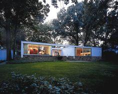 Howard Pack House, Scarsdale (Nueva York, EEUU) | Marcel Breuer | 1951 | Ampliación por Herbert Beckhard
