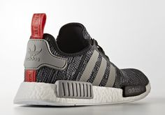 2 new adidas NMD R1 camo-style prints will release on February 4th, 2017 featuring Core Black and Dark Grey colorways each in signature Primeknit.