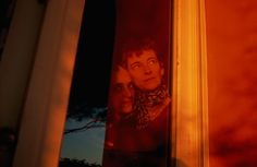 "Nan Goldin. ""Charlotte and Marie-Anne watching sunset, Christmas Eve"". 2003. Sète, France."