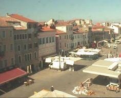 Live camera Venice - Corso del Popolo Chioggia, Italy. Current view and daylight picture.
