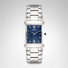 Replica Concord Carlton Stainless Steel Men's Watch 0310704 For Sale With Japan/Swiss Movement Concord Watches, Cool Store, Square Watch, Watch Sale, Watches Online, Watches For Men, Wrist Watches, Blues, Stainless Steel