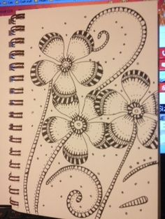 Zentangle Flowers!