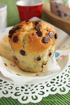 muffin pepite de chocolat