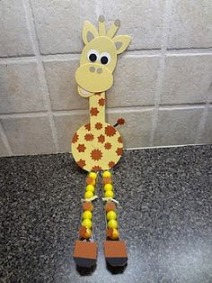 Stampin' Up!  Punch Art  Laura Haffke  Giraffe