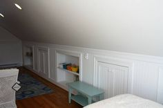 1000 images about remodeling ideas attic storage on for Cape cod attic bedroom ideas