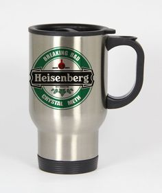 Breaking Bad Heisenberg Travel mug #travel mug #mug #funny mug #coffee mug #custom mug
