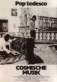 Italian article from early on German Cosmische Musik featuring Tangerine Dream, Popol Vuh, Kraftwerk and Ash Ra Tempel. Canterbury, Experimental Rock, Future Days, Jazz, Psychedelic Rock, Progressive Rock, Electronic Music, Classic Rock, Artist Art