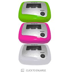 Start a #fitness #challenge for your #fitness #club and give each participant a CW Step #Pedometer with your fitness center logo on it. Only $4.95 each up to ten peds, if you buy more the price lowers as low as .60 each.  http://www.pedometersusa.com/cwstep.html