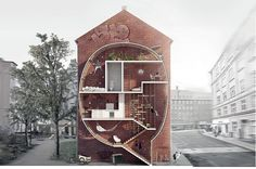 1: Live between Buildings! | Would You Move Into A 5-Foot-Wide Home? | Co.Design: business + innovation + design