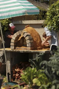 ::The Beetle Shack::: Build A Wood Fired Pizza Oven for $300