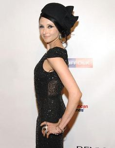 Stacey rocking our gown collection at the Elton John AIDS Foundation benefit.