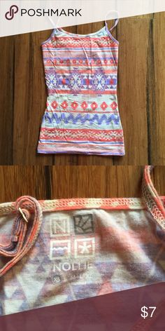 Aztec Nollie Cami Adorable Cami from Nollie. Only worn a few times and is extremely soft! Nollie Tops Camisoles