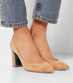 11 Comfortable Heels for Ladies With Wide Feet via @WhoWhatWearUK