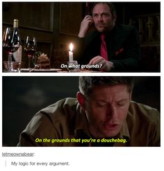 If Dean can use it on Crowley, I can use it too.