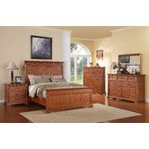 Found it at Wayfair - Oak Hill Panel Bedroom Collection