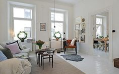 The Modern Concise Decoration Style