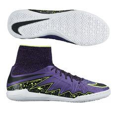 Nike Youth HypervenomX Proximo Indoor Soccer Shoes (Hyper Grape Black Volt Court  Purple) aa1845a9d3125