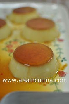 Aria in cucina: Creme caramel di Luca Montersino Italian Cookies, Italian Desserts, Italian Recipes, Creme Caramel, Panna Cotta, Cake Calories, Mousse, Italy Food, Creative Food