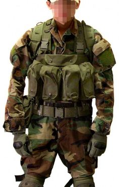 Chest rig.