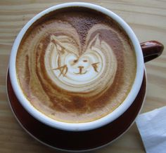 Cat latte (by bookish in north park)