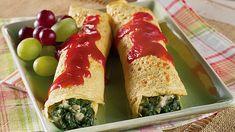 Spinach Crêpes - Diabetes #health #diabetes #lifestyle