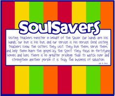 SoulSavers- Visiting Teaching Interview Treat wish i had seen this before our april interviews!