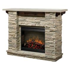 Featherston Electric Fireplace >> Love this!