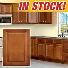 $998 10x10 kitchen cabinet set. chestnut series from door