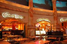 The Cheesecake Factory- definitely more than just cheese cake