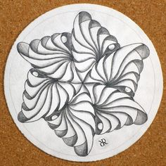 Zentangle - Phicops - Laura Harms and her husband B-rad designed.!