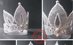 2nd Crown - by: ChauKhangshop Quilling-www.facebook.com