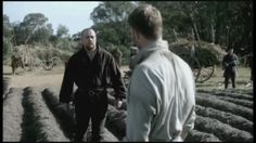 Captain Flint (Toby Stephens) reunites with Thomas Hamilton (Rupert Penry-Jones) in the series finale (Season 4 Episode 10) of Starz pirate drama Black Sails (animated gif - 1 of 3)