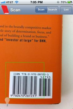 iPhone app to scan the barcode of a book and get the citation. NEED