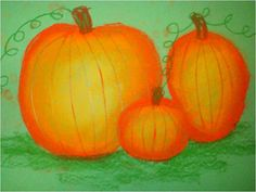 Pumpkin Shading Art Lesson