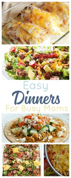 20 Fast Dinners for Busy Families. 20 Fast Dinners for Busy Families. Easy meals to get everyone fed with recipes even picky kids wills love. Easy meals to get everyone fed with recipes even picky kids wills love. Fast Easy Dinner, Fast Dinner Recipes, Fast Dinners, Fast Easy Meals, Lunch Recipes, 15 Minute Dinners, Cheap Dinners, Dinner Healthy, Egg Recipes