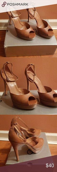 Shoes Camel shoes worn still in good condition Aldo Shoes Platforms