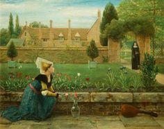 Английский художник George Dunlop Leslie(1835-1921). Обсуждение на LiveInternet…