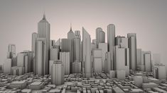3D City ambient occlusion