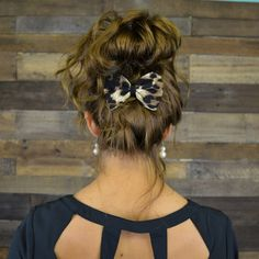 Fashion Frenzy Brown Bow Tie Hair Clip | Amazing Lace