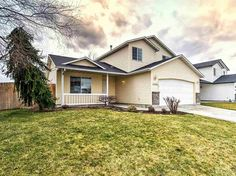 For sale: $175,900. This adorable West Boise home offers fresh interior paint, soft new carpet thru out & all new flooring downstairs. Separate Living & Family room w/French Doors. New toilet in 1/2 bath, new kitchen sink & disposal. It's nestled in a quiet neighborhood on a large corner lot ample room for RV Parking, gardening, or even build a workshop. Close to the Village, restaurants, & shopping. Move-in ready.
