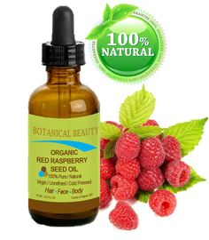 Organic red raspberry seed oil can help heal your skin and reverse some of the signs of aging.