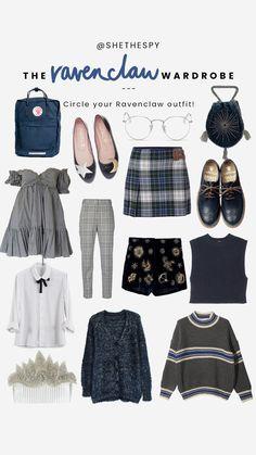 Ravenclaw Wardrobe