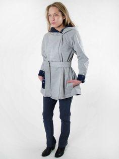 Reversible Deck Coat Spring '16