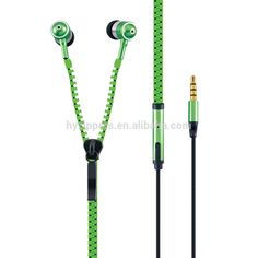 best quality premium tangle-free wired zip earphone, get free sample products