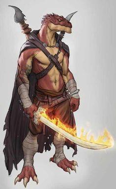 m Dragonborn Monk Cloak Magic Sword Staff lwlvl Fantasy Character Design, Character Concept, Character Inspiration, Character Art, Fantasy Races, Fantasy Rpg, Medieval Fantasy, Dungeons And Dragons Characters, Dnd Characters