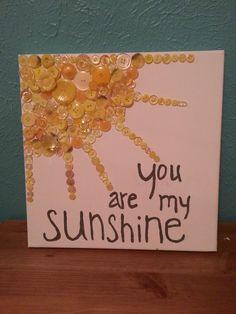Sunshine Button Art