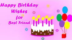 55 Best Birthday Wish for Best Friend Forever - Special Bday Quotes Best Happy Birthday Message, Best Birthday Wishes Quotes, Happy Birthday Buddy, Birthday Message For Friend, Happy Birthday Quotes For Friends, Birthday Wishes For Myself, Wishes For Friends, Very Happy Birthday, Happy Birthday Wishes