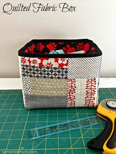 Decorative Fabric Boxes Easy Decorative Fabric Baskets To Sew Today  Sewing Projects